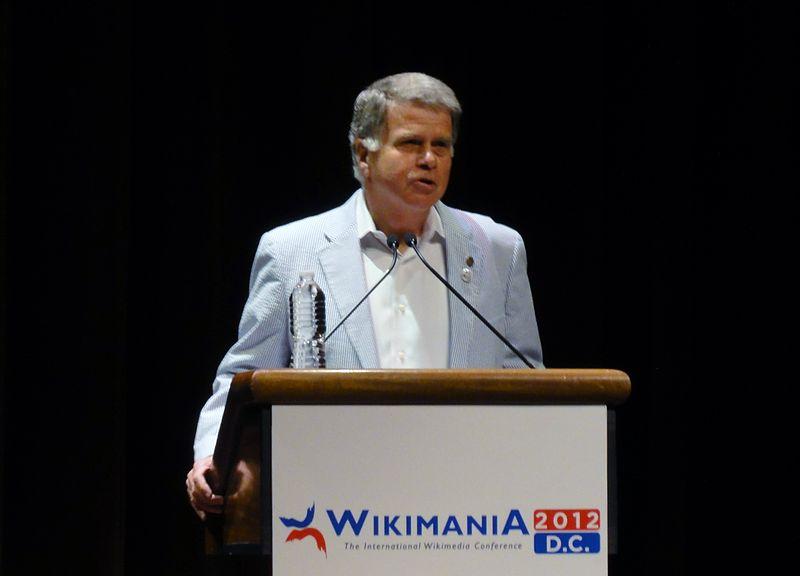 File:Wikimania 2012 AOTUS David Ferriero Keynote talk 2.JPG