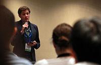 Wikimania 2015 - Joe Sutherland 07.jpg