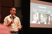 Wikimania 2015 - Joe Sutherland 23.jpg
