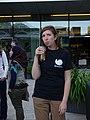 Wikimania volunteers party 2014-08-03 05 Katherine Bavage.jpg