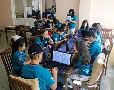 Wikimedia Armenia Summer Wikicamp 2017 (III) 32.jpg