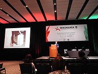 Wikimedia Polska at Wikimania 2015 by Maire 03.JPG