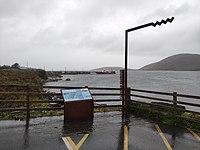 Wild Atlantic Way Cleggan Harbour sign.jpg