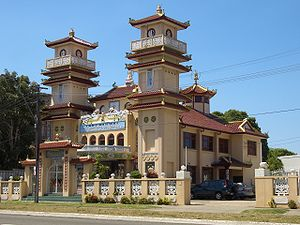 Vietnamese Australians - Cao Dai Temple in Wiley Park, New South Wales