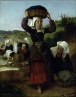 William-Adolphe Bouguereau (1825-1905) - Washerwomen of Fouesnant (1869).png