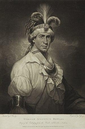 William Augustus Bowles - William Augustus Bowles, date of portrait unknown