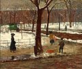 William Glackens(1870-1938), Washington Square, 1910 New Britain Museum of American Art,.jpg