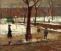 William Glackens(1870-1938), Washington Square, 1910 New Britain Museum of American Art,.jpg