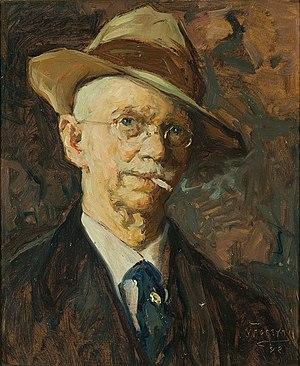 William Forsyth (artist) - Self-portrait, 1923