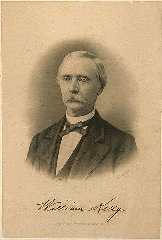 William Kelly (inventor) - Image: William Kelly (inventor)
