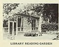 Wilmette Library reading garden (in 1950s).jpg