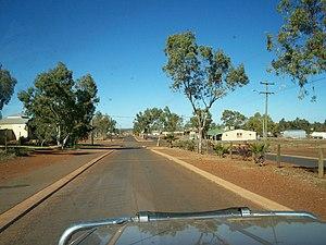Wiluna, Western Australia - Main Street in Wiluna