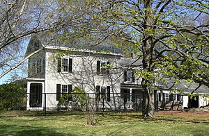 Asa Locke House - Image: Winchester MA Asa Locke House