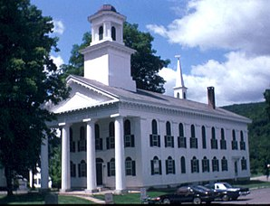 Windham County Courthouse in Newfane