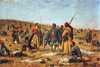 Vasily Vereshchagin - Image: Winners, by Vasily Vereshchagin (1878)