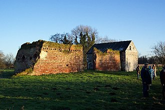 Woking - The ruins of Woking Palace
