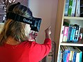 Woman in Oculus Rift 2013.jpg