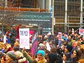 Women's march to denounce Donald Trump, in Toronto, 2017 01 21 -bt (32079111030).jpg