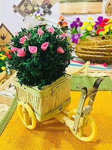 Wooden crafts in Amaravathi crafts festival 9.jpg