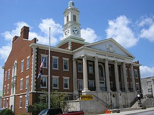 Woodford County, Kentucky - Image: Woodford county courthouse kentucky