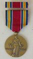 World War II Victory Medal - Obverse with ribbon.png