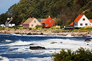 Bornholm - Bornholm's coastline