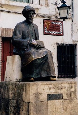 Maimonides - Monument in Córdoba