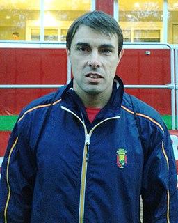 Xavier Porras Spanish Paralympic athlete