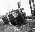 YaAZ-219 teherautó baleset, daru, 1962 Budapest - Fortepan 104399.jpg