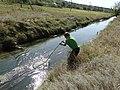 Yahorlyk River, hydrobiological sampling.jpg