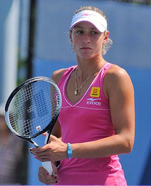 Yanina Wickmayer - Wickmayer at the 2010 US Open