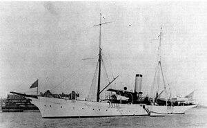 USS Yankton (1893) - Image: Yankton