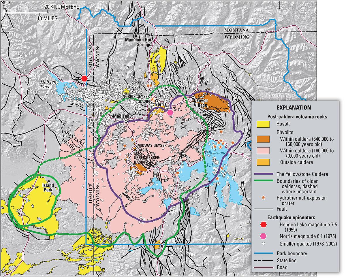 Yellowstone Supertulivuori