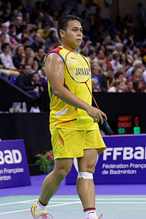 Markis Kido Badminton player