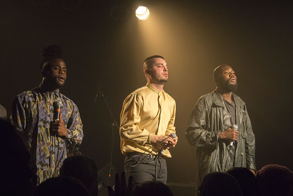 Young Fathers concert Portland