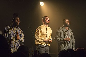 Young Fathers - Young Fathers in concert 27 April 2014