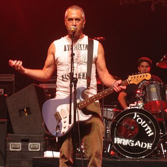 Youth Brigade (band) - Brothers Shawn (center) and Mark Stern (right) have been the two consistent members of Youth Brigade since the band's formation.