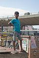 Youth near City Market, Bangalore in May 2008.jpg
