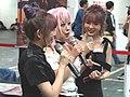 Yunni, Nori He and Niniko on air 20191013a.jpg