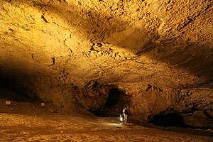 Zedekiah's Cave - Main chamber of Zedekiah's Cave