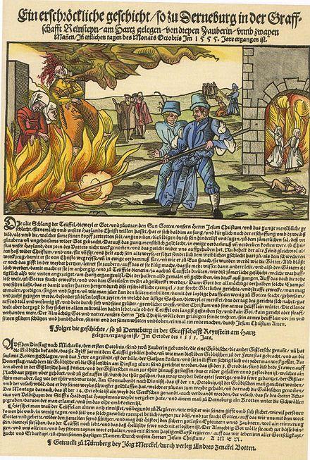魔女の火刑