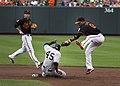Zoilo Almonte - New York Yankees at Baltimore Orioles June 28, 2013.jpg