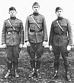 """LT. BURNHAM, CAPT. CHILSON and LT. MOSS"" from- 463d Aero Squadron - Photo Scrapbook 16 (cropped).jpg"