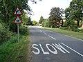 """Slow Down, Me Duck"" - geograph.org.uk - 521198.jpg"