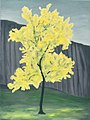 'Blooming Golden Primavera Tree' by Marguerite Louis Blasingame.jpg