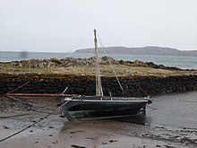 'Coila', a Galway Hooker at Portencross, North Ayrshire.jpg