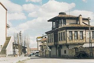 Çerkeş Town in Turkey