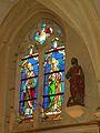 Église Saint-Léger d'Andeville vitrail 5.JPG