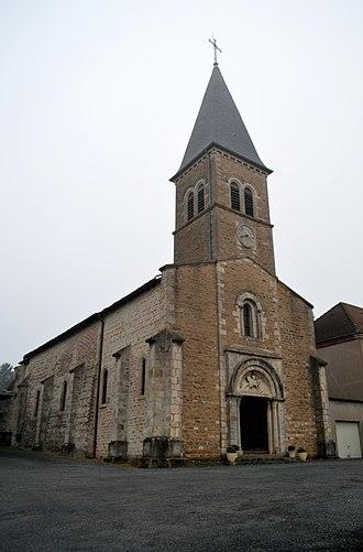 Baneins - Image: Église Saint Martin de Baneins 4