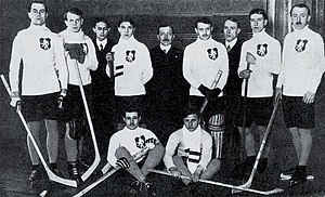 Bohemia national ice hockey team - Bohemia at the 1911 European Championship, which they won.
